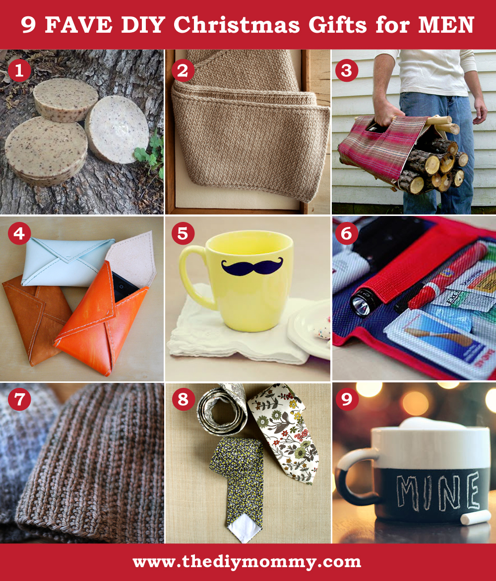A Handmade Christmas: DIY Gifts for Men | The DIY Mommy