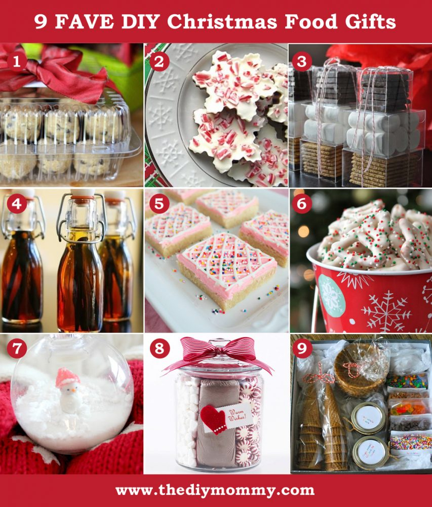 Diy christmas gift ideas food