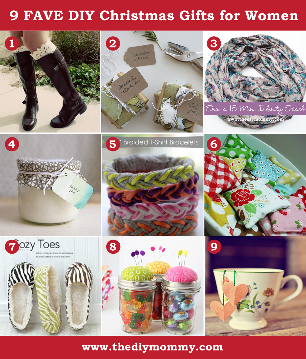 A Handmade Christmas DIY Gift Ideas For Women By The Mommy