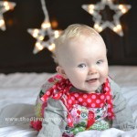 Make a DIY Christmas Photo Backdrop with Twinkle Lights by The DIY Mommy