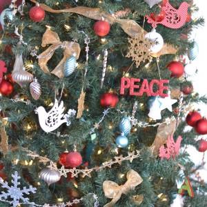Free Christmas Bible Verse Wall Art Printable (& Our Christmas Tree Story)