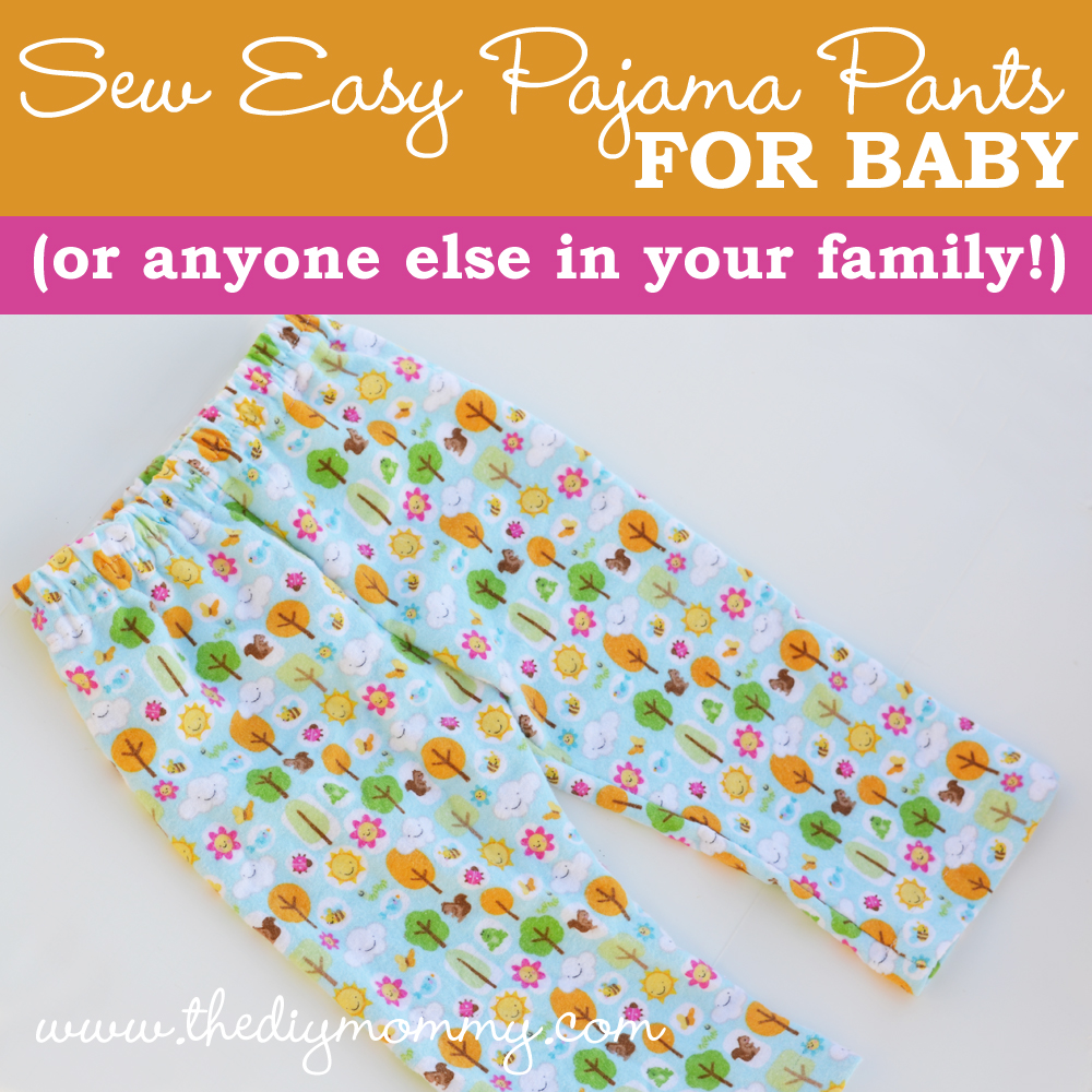 image regarding Printable Pajama Pants Pattern identified as Sew Uncomplicated Pajama Trousers for Kid (or Everybody Else within Your Relatives!)