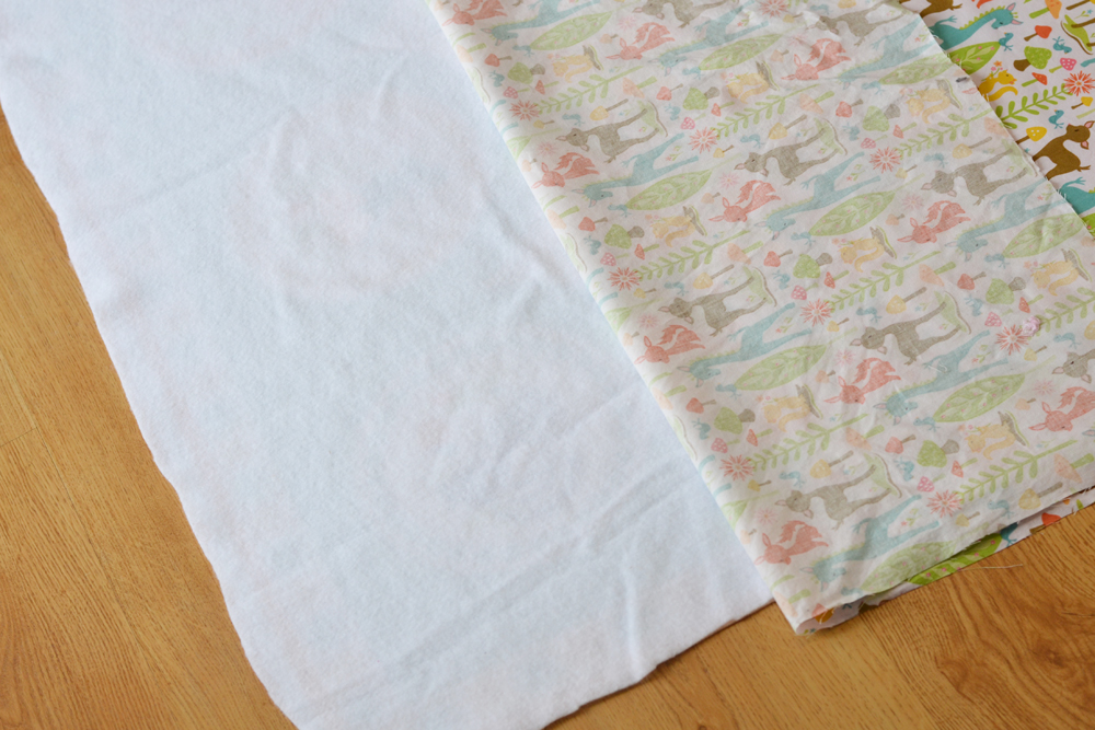 Sew an Easy Beginner's Baby Quilt by The DIY Mommy