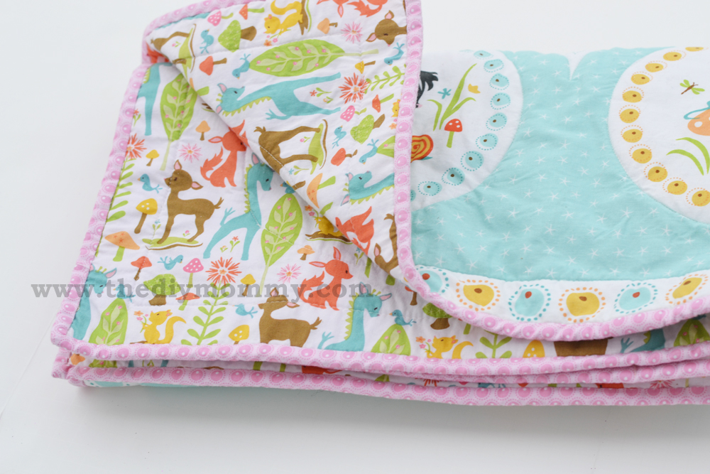 Sew An Easy Beginner S Baby Quilt By The Diy Mommy