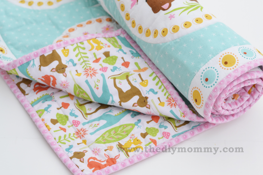 Sew an easy beginners baby quilt the diy mommy sew an easy beginners baby quilt by the diy mommy solutioingenieria Images