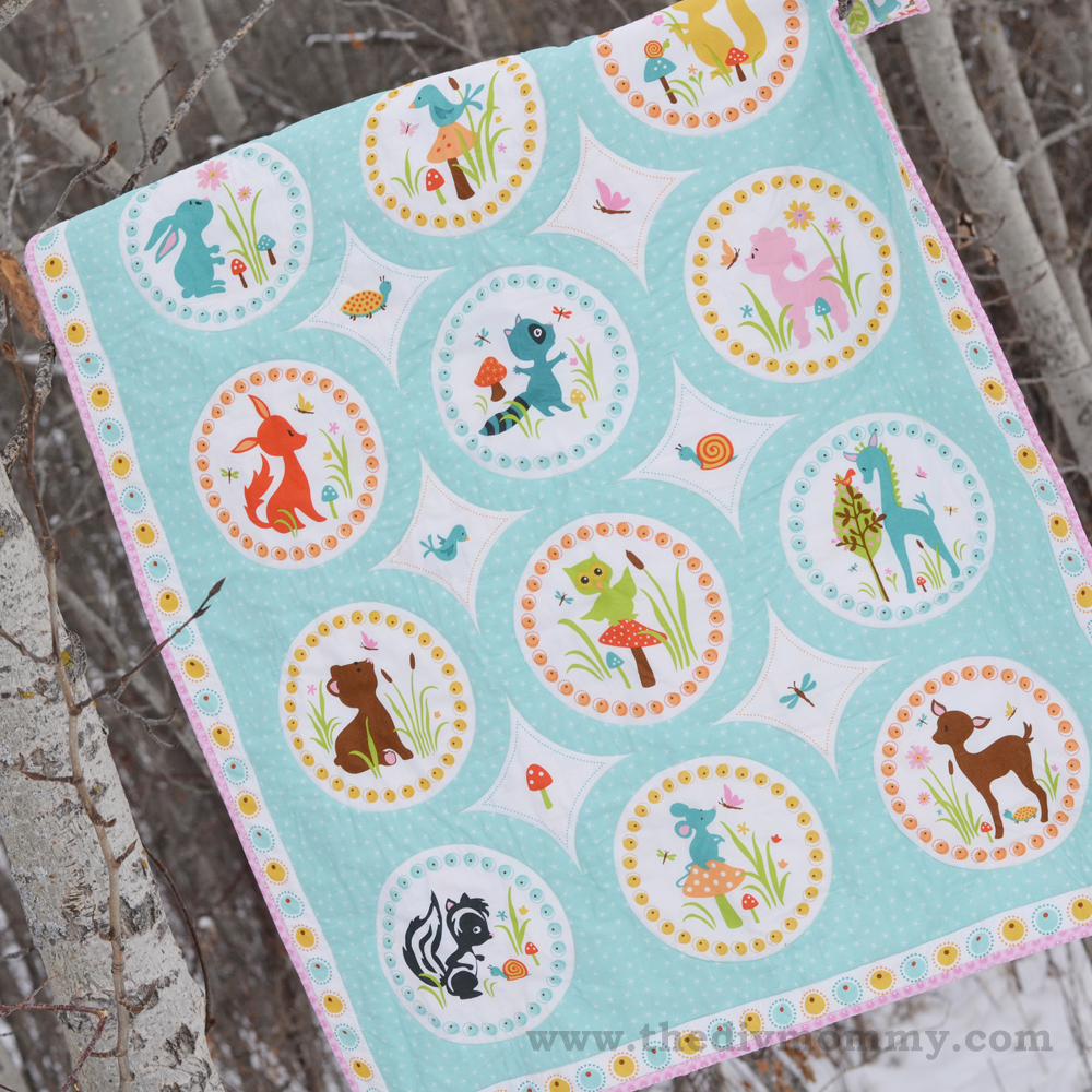 Sew an easy beginners baby quilt the diy mommy sew an easy beginners baby quilt by the diy mommy jeuxipadfo Gallery
