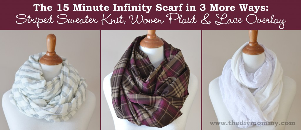 InfInity scarf | The DIY Mommy