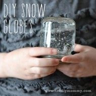 Make DIY Snow Globes – A Kid's Craft