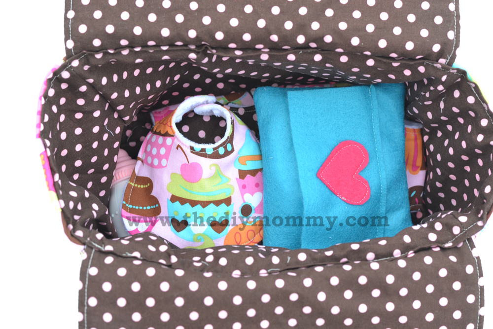 Sew a Deluxe Dolly Diaper Bag and Accessories (Dolly Diapers, Wipes ...