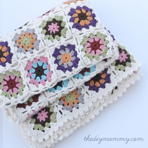 Crochet an Organic Cotton Granny Square Baby Blanket by The DIY MommyCrochet an Organic Cotton Granny Square Baby Blanket by The DIY MommyCrochet an Organic Cotton Granny Square Baby Blanket by The DIY Mommy