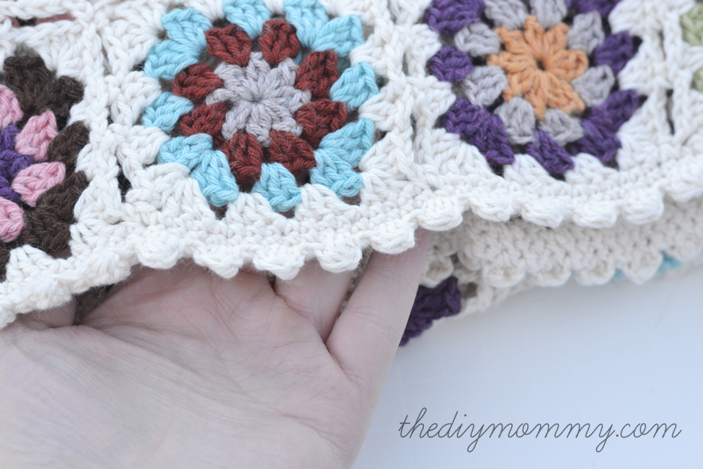 Crochet an Organic Cotton Granny Square Baby Blanket – Part 2 ...