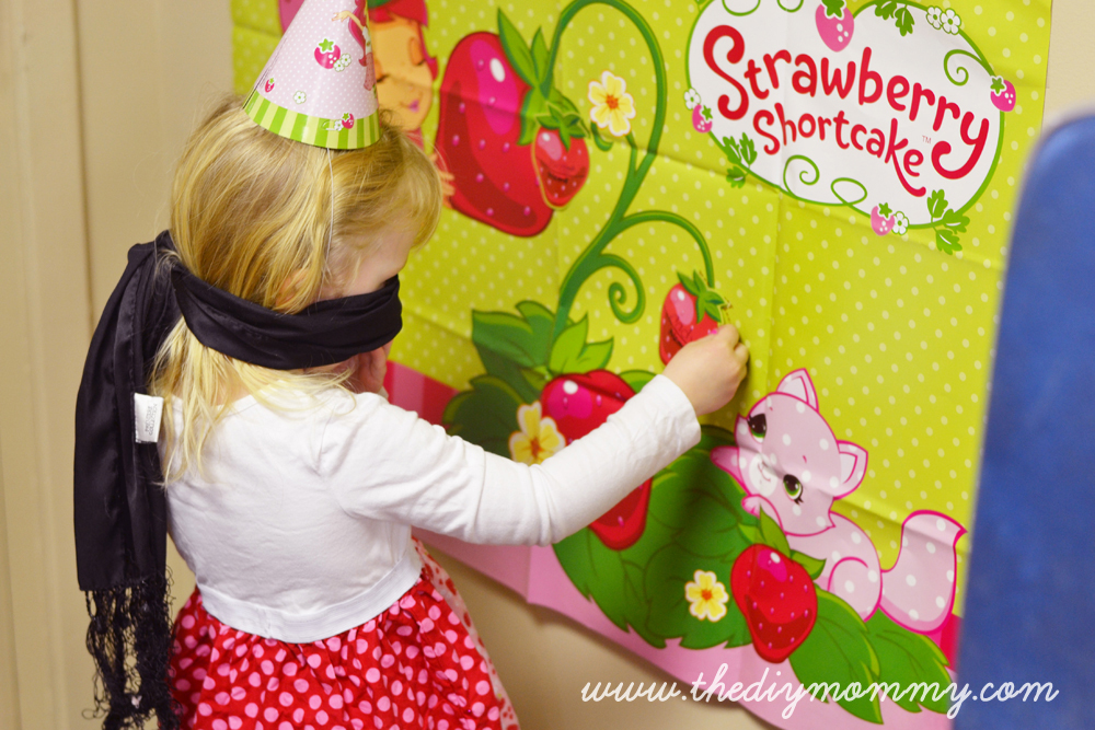 Strawberry Shortcake Party Water Labels Birthday By The DIY Mommy