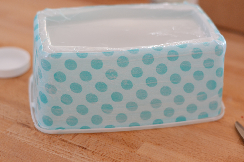 Make An Easy Tactile Baby Toy From A Wipes Container