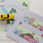 Road Map Busy Bag by The DIY Mommy - Free Printable!