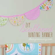 Sew a Scalloped Bunting Banner