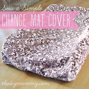 Sew A Simple Change Mat Cover