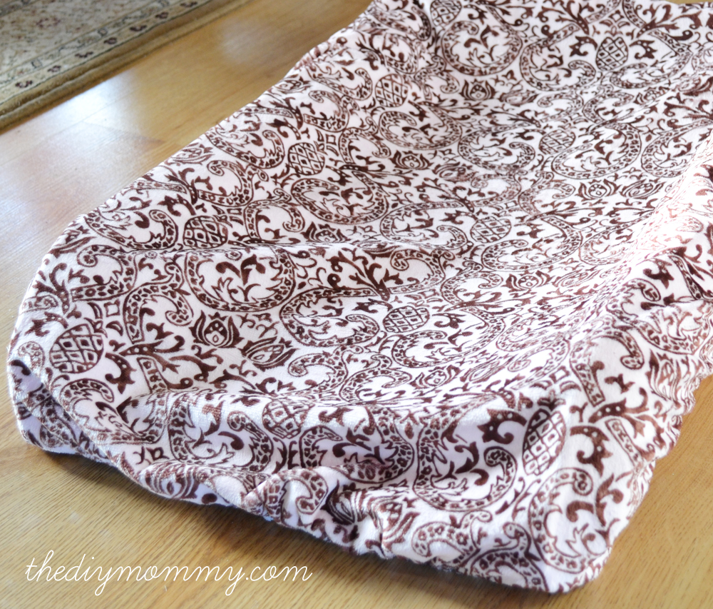 Sew a Simple Change Mat Cover by The DIY Mommy