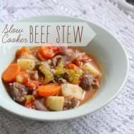 Make Easy Slow Cooker Beef Stew