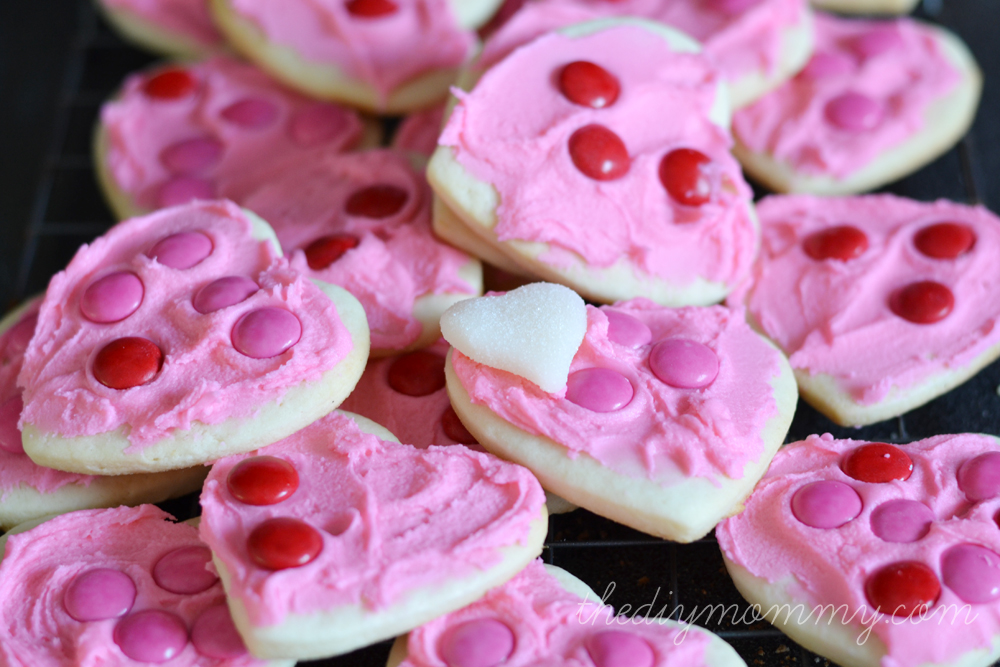 Valentine's Day Baking by The DIY Mommy