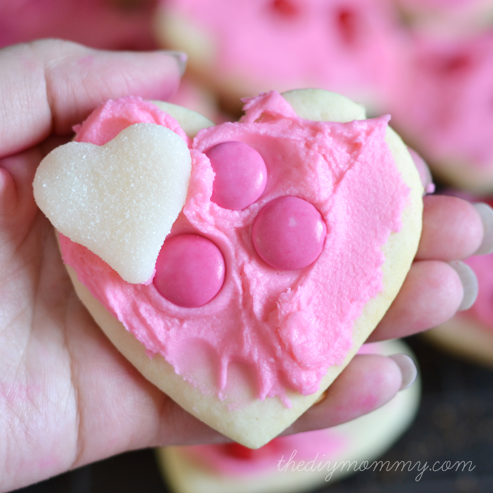 Valentine's Day Cookies by The DIY Mommy