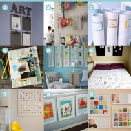 9 Favourite Ways to Display and Store Kids' Artwork