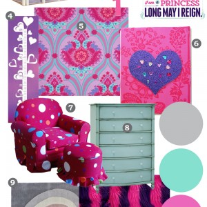 Mood Board: Bright Jewel Toned Kid's Bedroom – Our DIY House