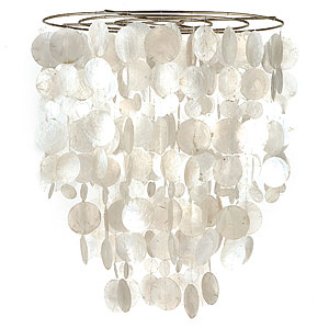 Could you make a capiz shell light out of a recycled ice cream pail? - The DIY Mommy