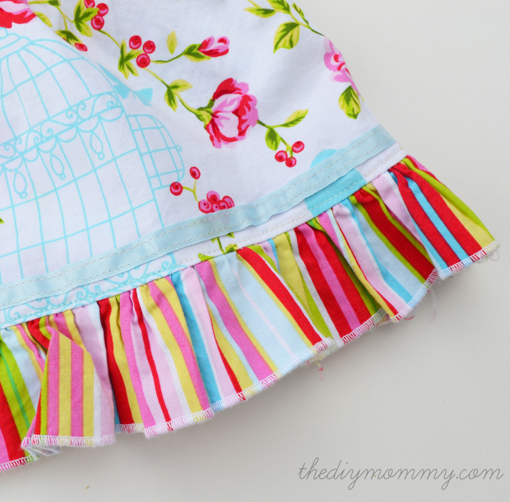 Baby tie the diy mommy vintage inspired easter dress by the diy mommy negle