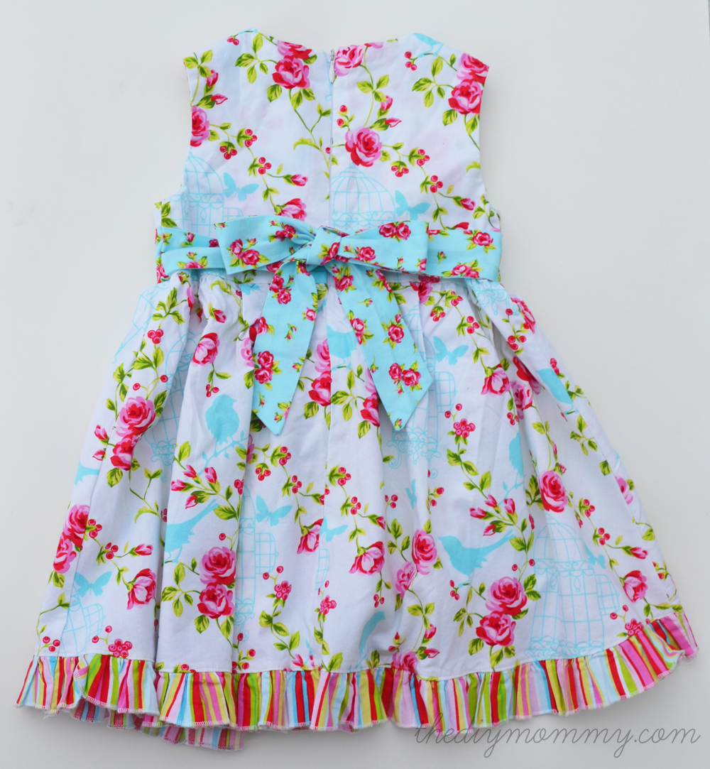 Diy Easy Sew Girls Dresses For Fall Baby A s dress was based on