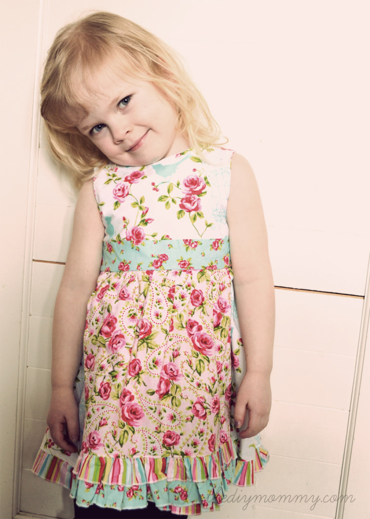 DIY Vintage Inspired Easter Dress by The DIY Mommy