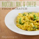 Broccoli Mac & Cheese from Scratch by The DIY Mommy