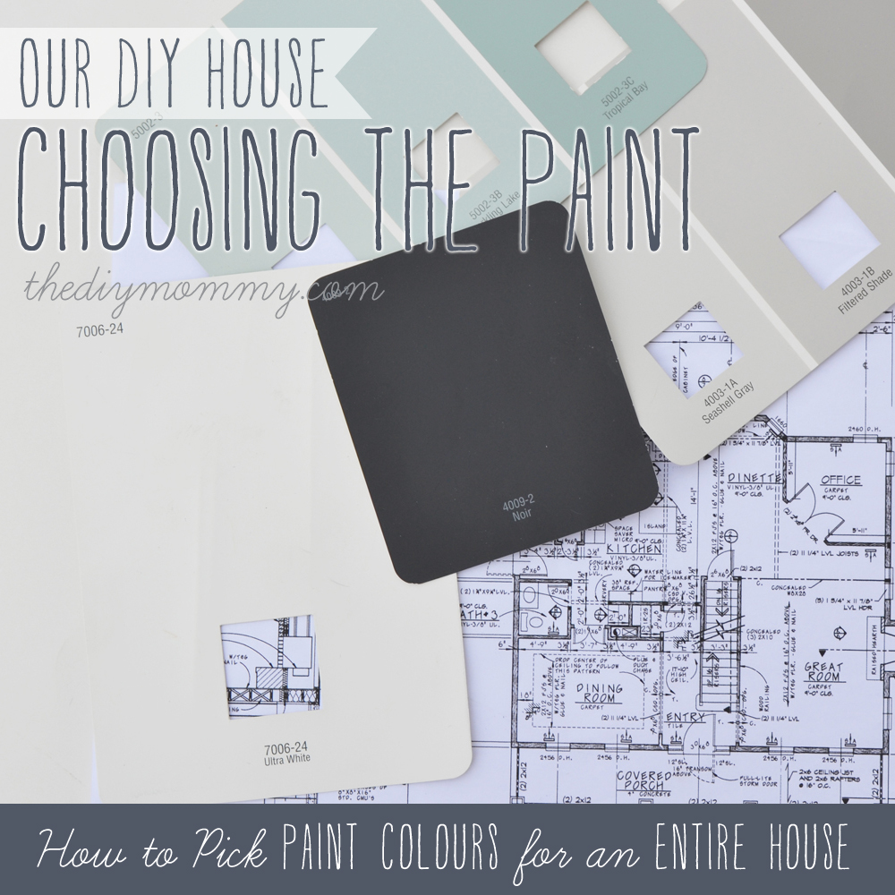 Choosing the Paint: How to Pick Paint Colours for an Entire House - Our DIY House
