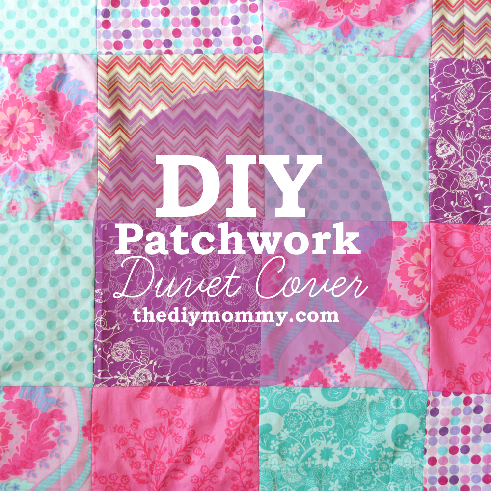 Sew a Patchwork Duvet Cover | The DIY Mommy