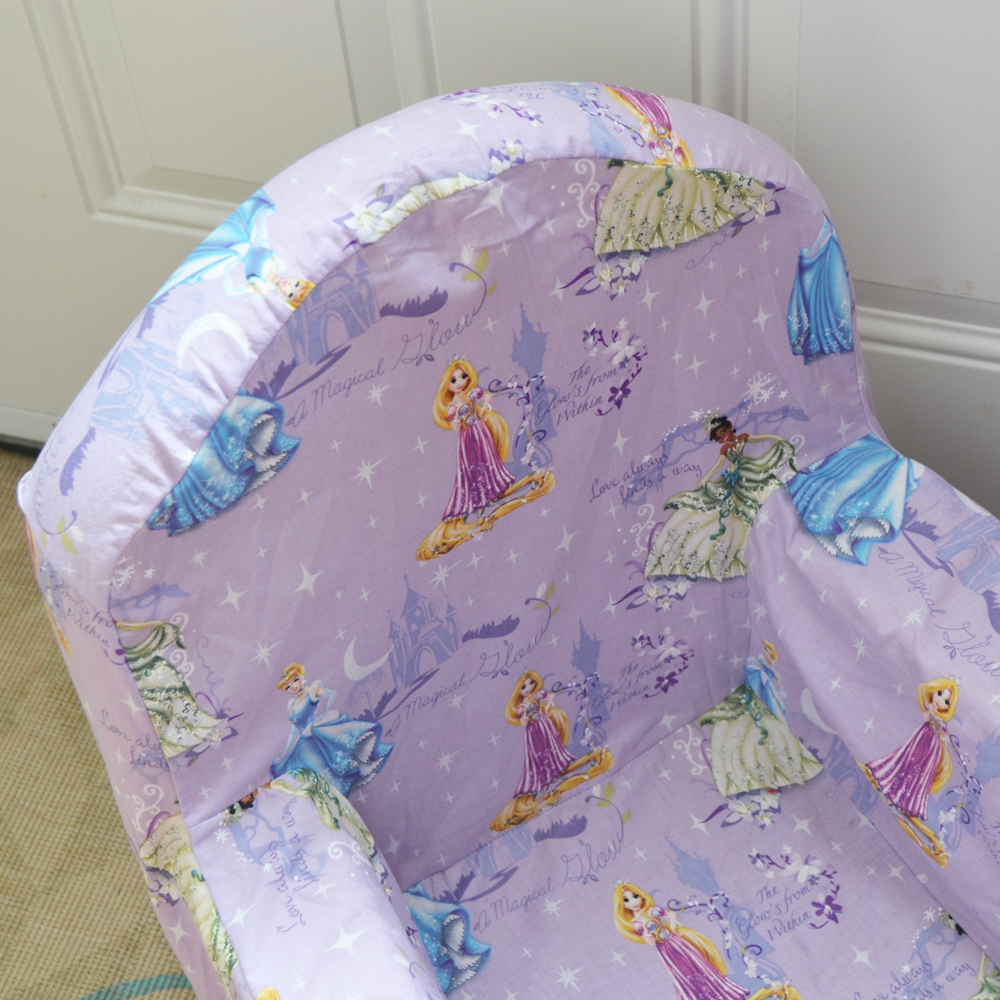 Sew A New Cover For Kid S Plush Chair By The Diy Mommy