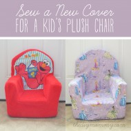 Sew a New Cover for a Plush Kid's Chair