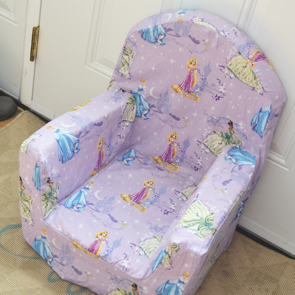 Sew a New Cover for a Kid's Plush Chair by The DIY Mommy