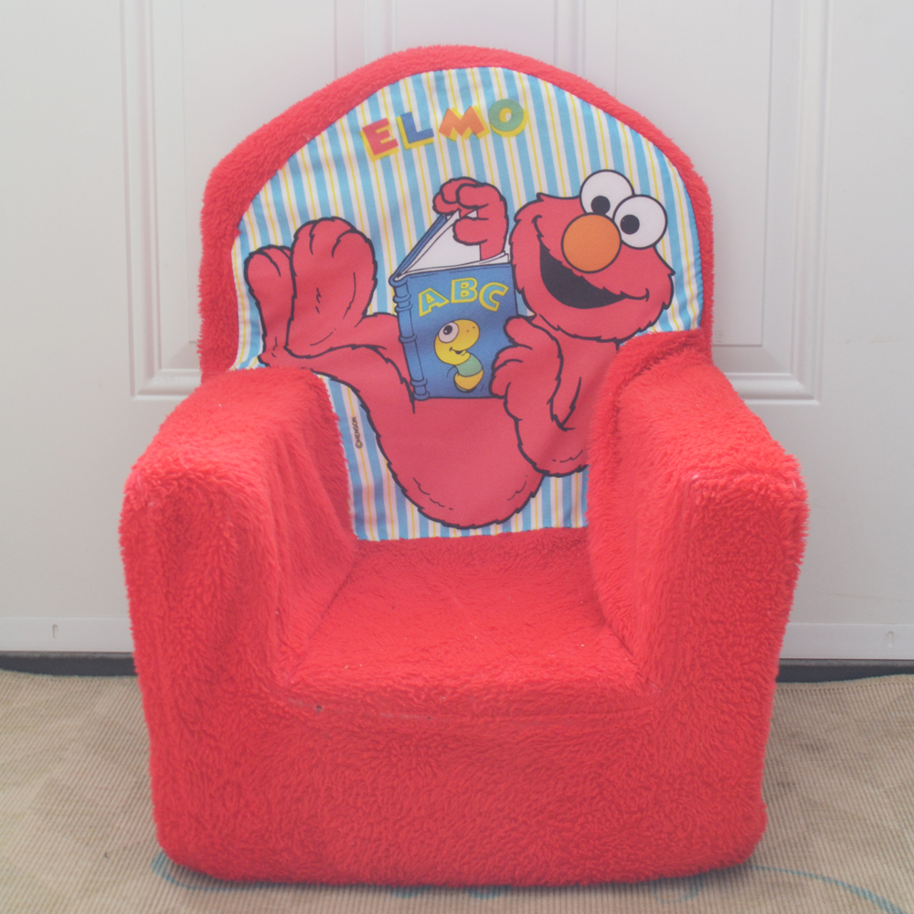 Sew a new cover for a plush kid 39 s chair the diy mommy for Toddler chair