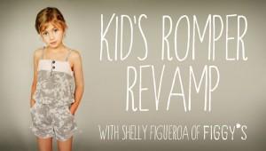 Kids Romper Revamp Crafsty Class