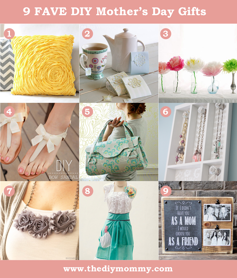 DIY Mother's Day Gift Ideas to Sew or Craft | The DIY Mommy