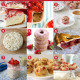 9 Favourite Things to Make With Strawberries from The DIY Mommy. Strawberry Cream Pie, Strawberry Pretzel Salad, Roasted Strawberry Muffins, Strawberry Cake, Whole Grain Strawberry Donuts, Strawberry Rhubarb Pie, Strawberry Overnight Oats, Strawberry Cheescake Muffins, Strawberry Rhubarb Bars.