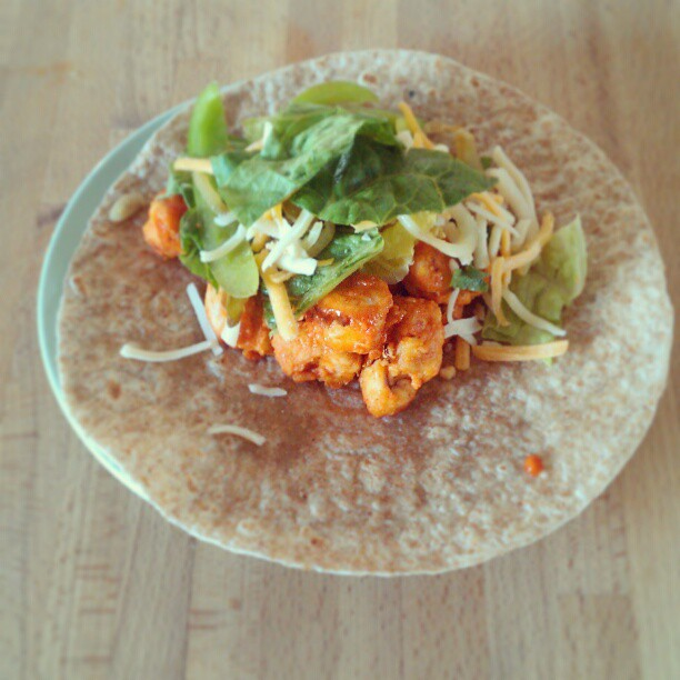 Buffalo Chicken Tacos on Instagram - The DIY Mommy