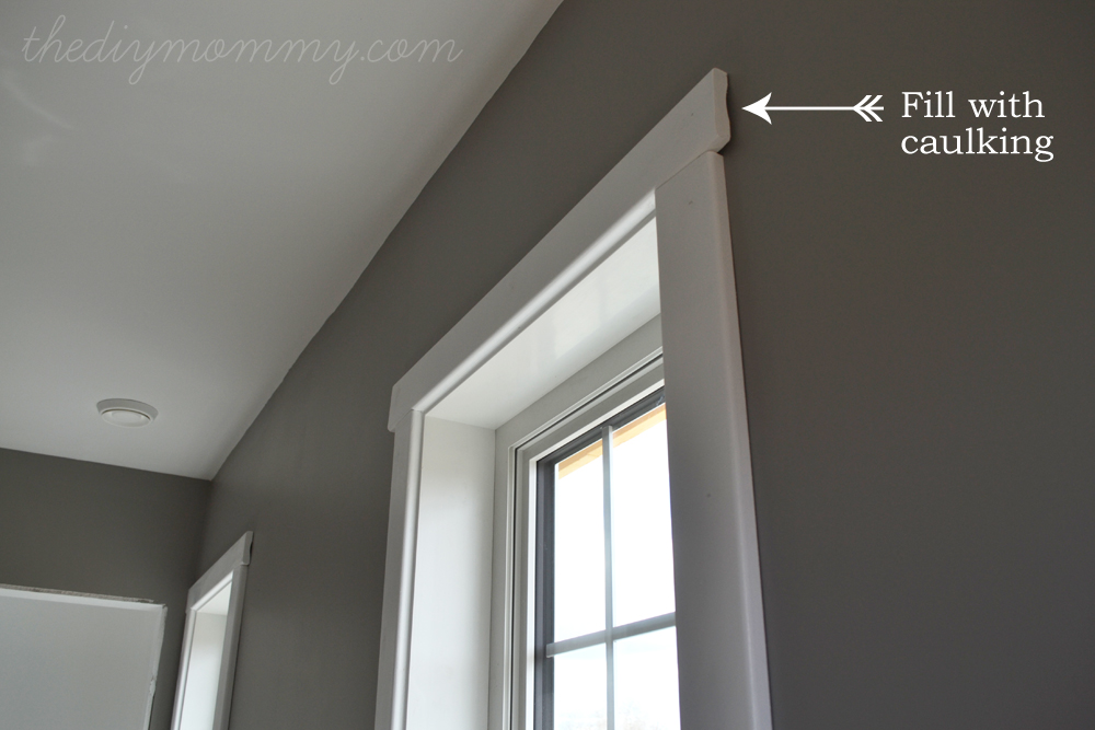 DIY Simple Craftsman Shaker Window \u0026 Door Trim by The DIY Mommy & How to design and install simple crafstman shaker window and door ...