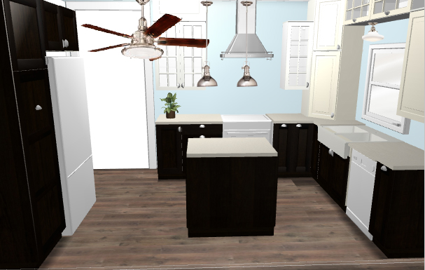 Designing a Family Kitchen by The DIY Mommy. IKEA cabinets