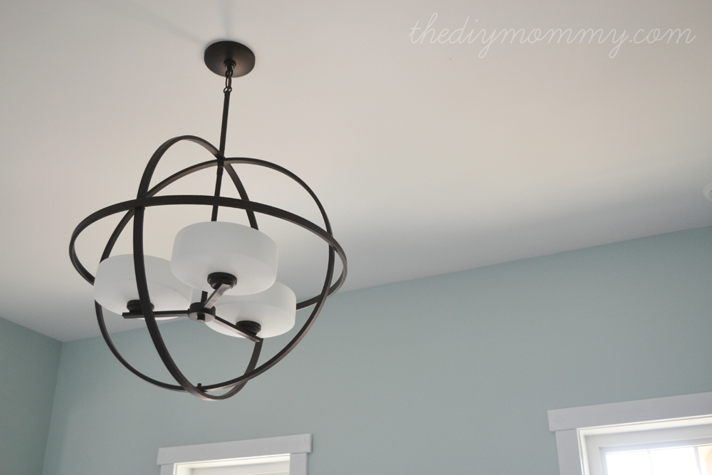 Our DIY House Light Fixtures by The DIY Mommy