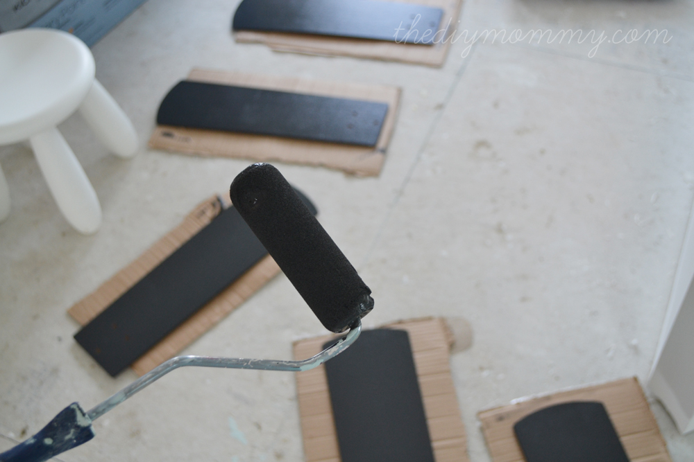 How to Paint Fan Blades Like A Pro by The DIY Mommy