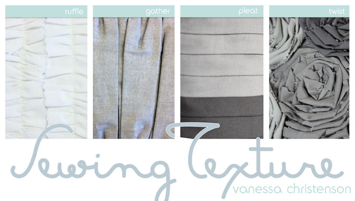 Sewing Texture online Craftsy Class
