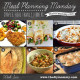 Meal Planning Monday Week 6: Crunchy Baked Pork Chops, Ham & Asparagus Crepes, Gnocchi Bake, Winner Winner Chicken Dinner, Ground Beek Risotto, Chicken 'n' Biscuits