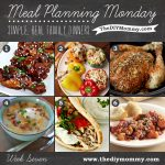 Meal Planning Monday Week 7: Slow Cooker Week! Sticky chicken, stuffed peppers, slow cooker chicken, potato soup, chicken gyros and mediterranean minestrone casserole.