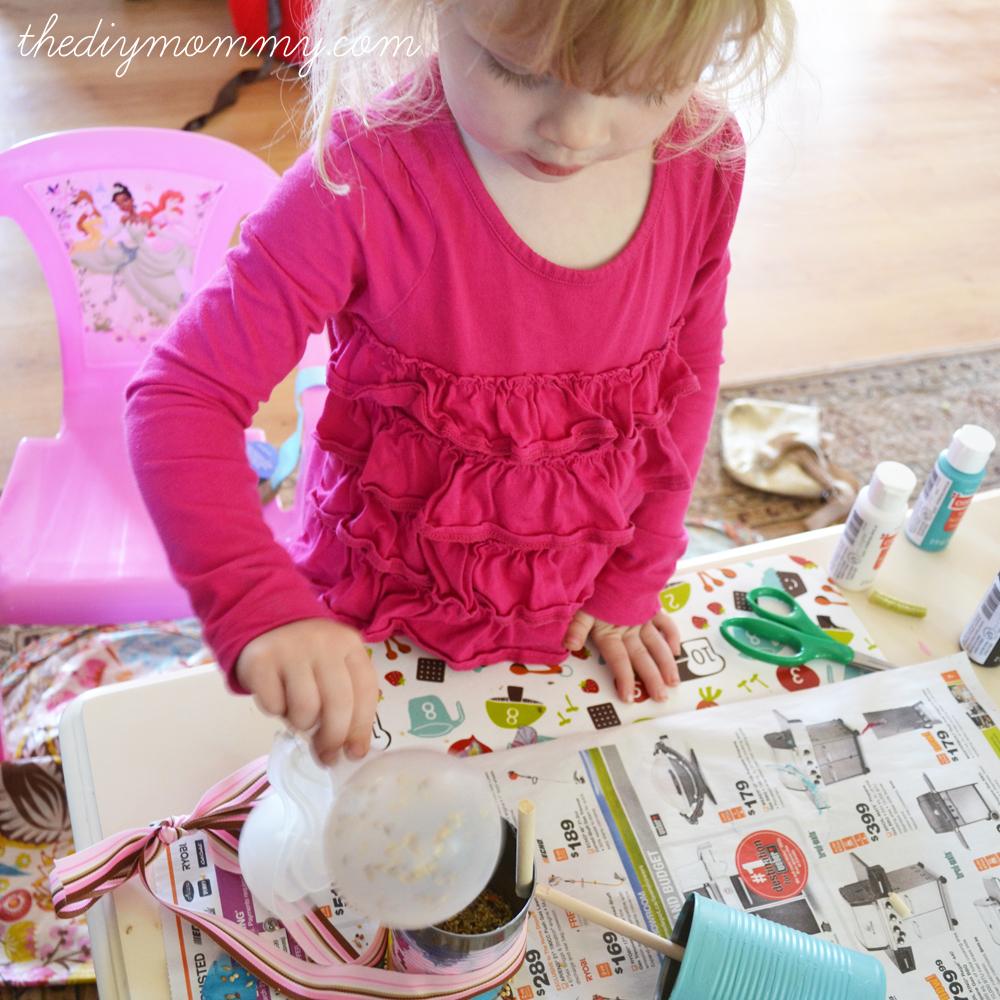 DIY Tin Can Bird Feeder from The DIY Mommy