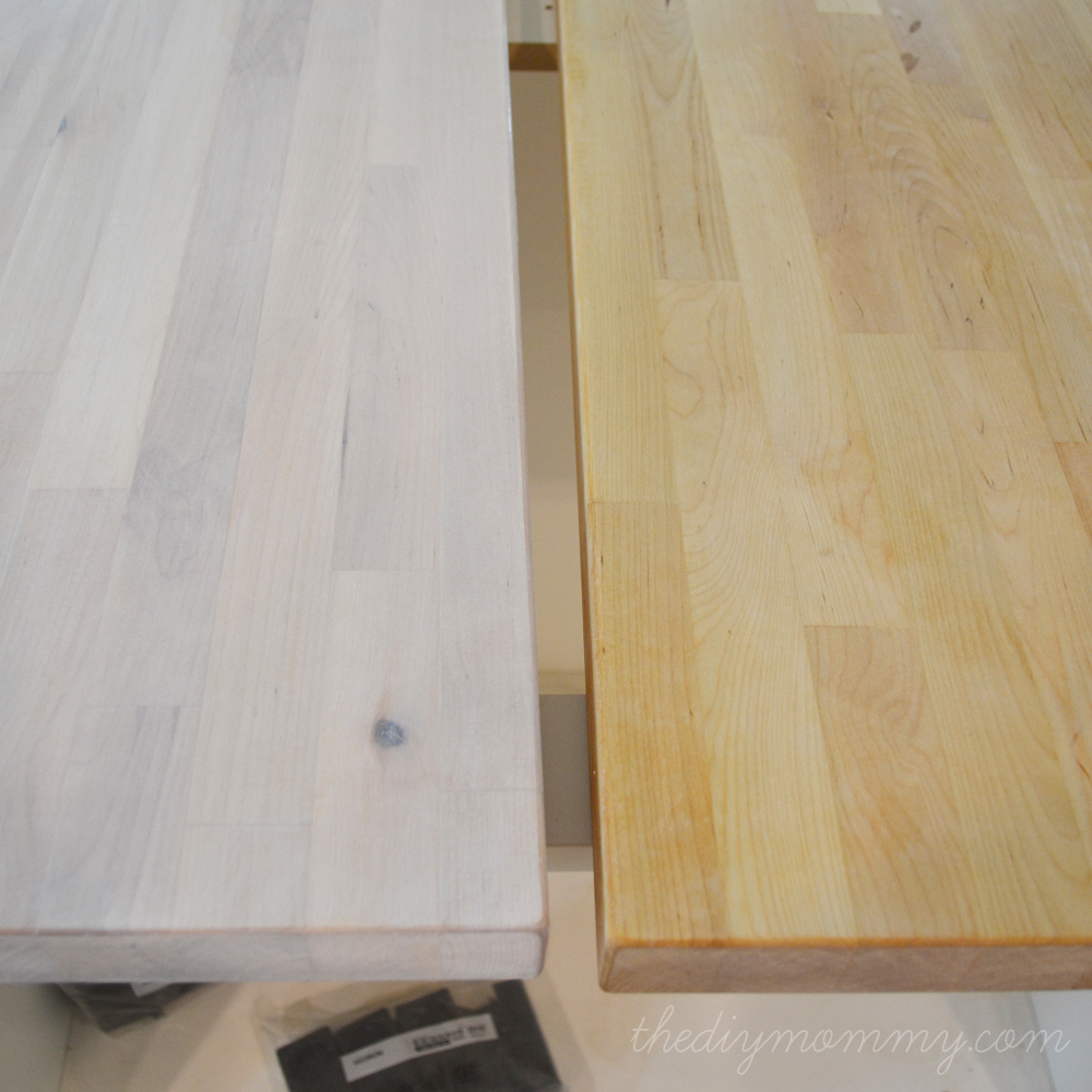 How To Stain And Seal A Butcher Block Countertop